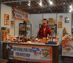 L'artisan et producteur de sirop d'érable, L'Érablière Lefebvre & Fils était présent pour vous proposer leurs produits.