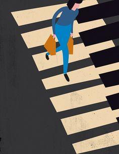 ilustraciones de Anna Kövecses #coolstuff #vectorial #iconocero