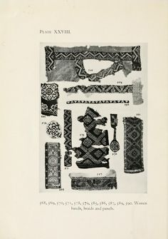 Catalogue of textiles from burying-grounds in E...