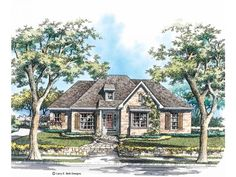 French Country Cottage House Plans eplans french country house plan - breathtaking european cottage