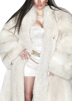 White Face Mask, White Fox, Furs, Fur Coat, Jackets, Fashion, Fur, Down Jackets, Moda