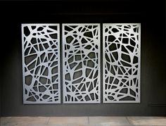 Bespoke, Laser cut Screens, Aluminium, Feature Wall
