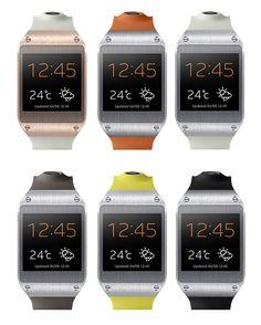 samsung galaxy gear smartwatch - designboom | architecture & design magazine