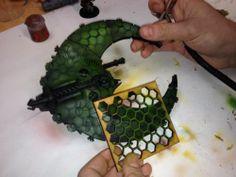 Warhammer Necrons Tanks Gaurd Imperial Eldar - Painting Stencil | eBay