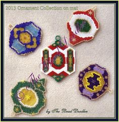 Looking for your next project? You're going to love 2013 Ornament Collection by designer bead doodler. - via @Craftsy