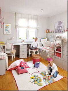 Cameretta per Bambini e Ragazzi-letto soppalco-4