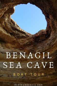 Ultimate Guide to Benagil Cave Portugal - All you have to know before booking Benagil Cave Boat Tour in Algarve. MUST-do boat tour! Spain And Portugal, Portugal Travel, Algarve, International Travel Checklist, Best Beaches In Europe, Sea Cave, Europe Destinations, Boat Tours, Adventure Is Out There