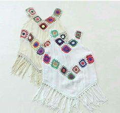 Crochet Clothes, Boho Shorts, Hand Knitting, Crochet Top, Tassels, Crochet Patterns, Bell Sleeve Top, Sewing, Womens Fashion