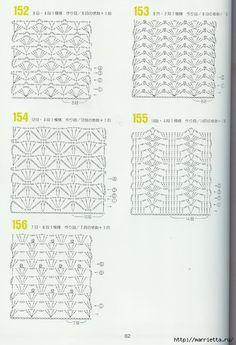 262 узора крючком. Японская книжка со схемами (20) (478x700, 221Kb)