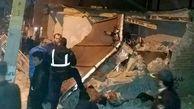 انفجار گاز شهری در تبریز  حال مصدوم وخیم است عکس