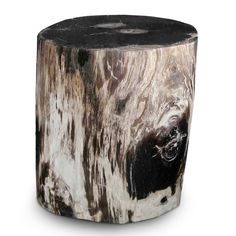 Nolita Petrified Wood Stool PF-2025// #aire #furniture #stool #modern #organic