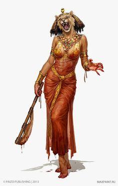 Sejmet, la diosa leona