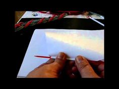 Aus Drucker Papier Papier Röllchen machen - YouTube