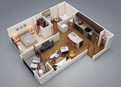 1 Bedroom House Designs Unique Two Bedroom Flat Design Plans  Httpsbedroomdesign2017 Review