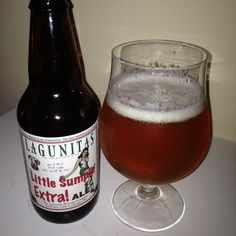 Lagunitas Little Sumpin' Extra is a ~73 IBU 8.5 ABV ADIPA.  The appearance is orange with a zesty citrus hop nose and the flavor a great balance of sweet malt and bitter west coast citrus hop.  Additional wheat malts add to the sweetness and complexity in a nod to the standard Little Sumpin Sumpin.  The mouthfeel is slightly under moderate and the carbonation medium.  This is a home run from Laggy and a standout amongst a very crowded field.  The availability is seasonal, get it when you…