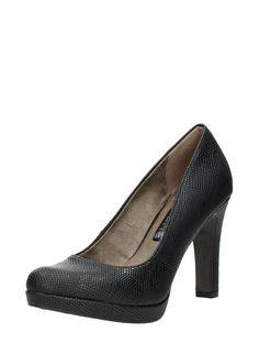 Tamaris elegante zwarte pumps met hoge hak