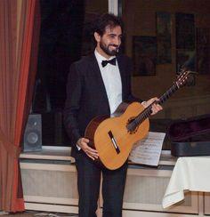 Stargast aus Mailand: Giuseppe Chiaramonte (klassische Gitarre)