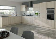 Lewes Acacia Kitchen Doors from Kitchen Door Workshop