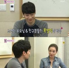 Yoon Han and Lee So Yeon share what their parents think on 'We Got Married' | http://www.allkpop.com/article/2013/10/yoon-han-and-lee-so-yeon-share-what-their-parents-think-on-we-got-married