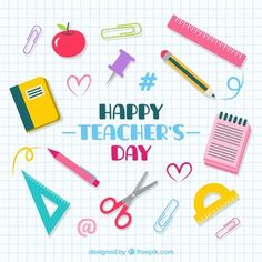 Teachers are the spark, the inspiration, the guide, the candle. Teachers are the force of national education reform, with challenges ahead to produce a better nation. Thank you teachers. World Teacher Day, World Teachers, Your Teacher, Teacher Stuff, Happy Teachers Day Card, Teachers Day Poster, Conversation Starters For Kids, Education Banner, School Labels