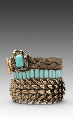 Shop for Samantha Wills Beautiful Nightmare Bracelet Set in Turquoise at REVOLVE. Turquoise Jewelry, Gemstone Jewelry, Turquoise Bracelet, Fashion Brand, Love Fashion, I Love Jewelry, Samantha Wills, Bracelet Set, Girly Things
