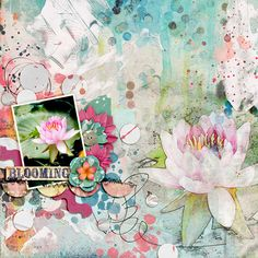 Loving this gorgeous soft page!!! We have another 5 awesome pages to inspire you in the blog today, come join us! :)