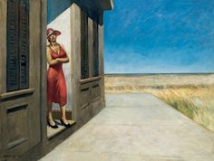 Edward Hopper - South Carolina Morning, 1955, oil on canvas
