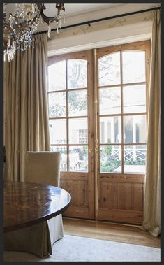 French Doors double raised wood panel and 8 lite with eyebrow tops cypress or rustic walnut clear bevel glass with brass hardware - March 23 2019 at French Doors With Screens, Double French Doors, Glass French Doors, French Doors Patio, Windows And Doors, Front French Doors, Wood French Doors Exterior, Double Patio Doors, Glass Doors
