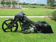 Custom Harley Bagger