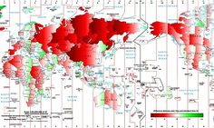 Stefano Maggiolo made a map of how much the time zones of the world vary from solar time. The darker the color, the more the devia Perception Du Temps, Time Perception, Time Zone Map, World Time Zones, Solar Time, Where The Sun Rises, Data Visualization, Sunrise, Around The Worlds