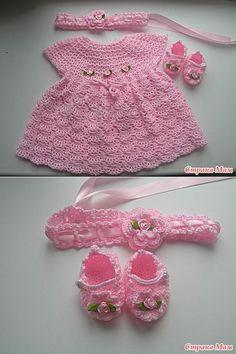Conjunto para una princesa recién nacido