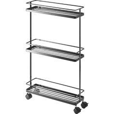 Yamazaki USA Inc. Tower Rolling Kitchen Storage Cart