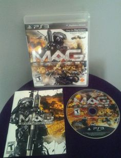 MAG  (Sony Playstation 3, 2010) complete, works great #Sony