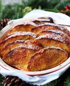 Baked Eggnog French Toast Casserole