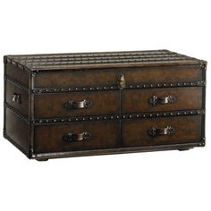 I pinned this Saratoga Trunk Table from the DIY Showoff event at Joss and Main!