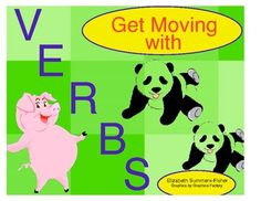 "What better way to help kids make the connection that verbs are action words than by having them act them out?  I love to use this activity when kids need to get up and move around or as a ""filler"" when you have just a few minutes.     Make this activity once - use it forever!"