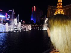 Bellagio Fountains at Las Vegas