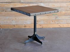 Wednesday Table by Vintage Industrial Furniture