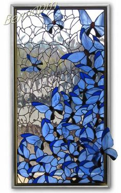 Stained Glass Artists Art Glass Architecture - My Magnificent Ideas Stained Glass Quilt, Faux Stained Glass, Stained Glass Designs, Stained Glass Panels, Stained Glass Projects, Stained Glass Flowers, Stained Glass Patterns, Broken Glass Art, Sea Glass Art