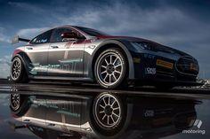 blogmotorzone: Tesla Model S P100D 4x4. Para leer más visita: http://blogmotorzone.blogspot.com.es/2017/01/tesla-model-s-p100d-4x4.html