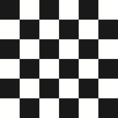 Checkered Design - Black (Large) - Standard Vinyl / 3 metre x 65cm / Portrait