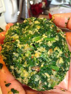 spinach and kale burgers