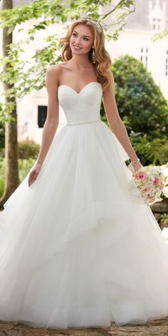 40+ Glamorous Ball Gown Wedding Dresses for 2018 Trends fad0c9ee82