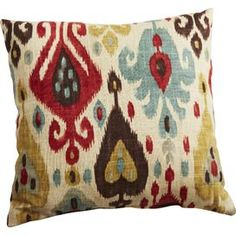 Stout Fabric: Gameboard 2 Mineral on Arlee Pillow in Jubilee at Joss and Main.