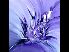 purple diamond, abstract painting, Acrylic - YouTube