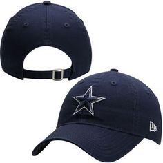 Dallas Cowboys New Era Women s Essential 9FORTY Adjustable Hat - Navy Blue Dallas  Cowboys Women 3ed02be10ae