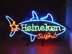 Heineken Sushi Neon Sign
