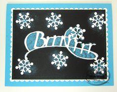 Brrrr Chalkboard Card