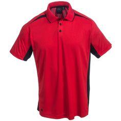 StormTech Men's TXP2 RED Red Performance Polo Shirt