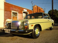 1976 Mercedes Benz  240D. I miss the smell of this car!